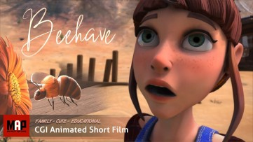Cute Short Film ** BEEHAVE ** CGI 3d Animated cartoon for kids by Objectif 3d Team