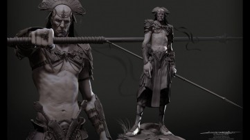 Organic Modelling in ZBrush - Full Character
